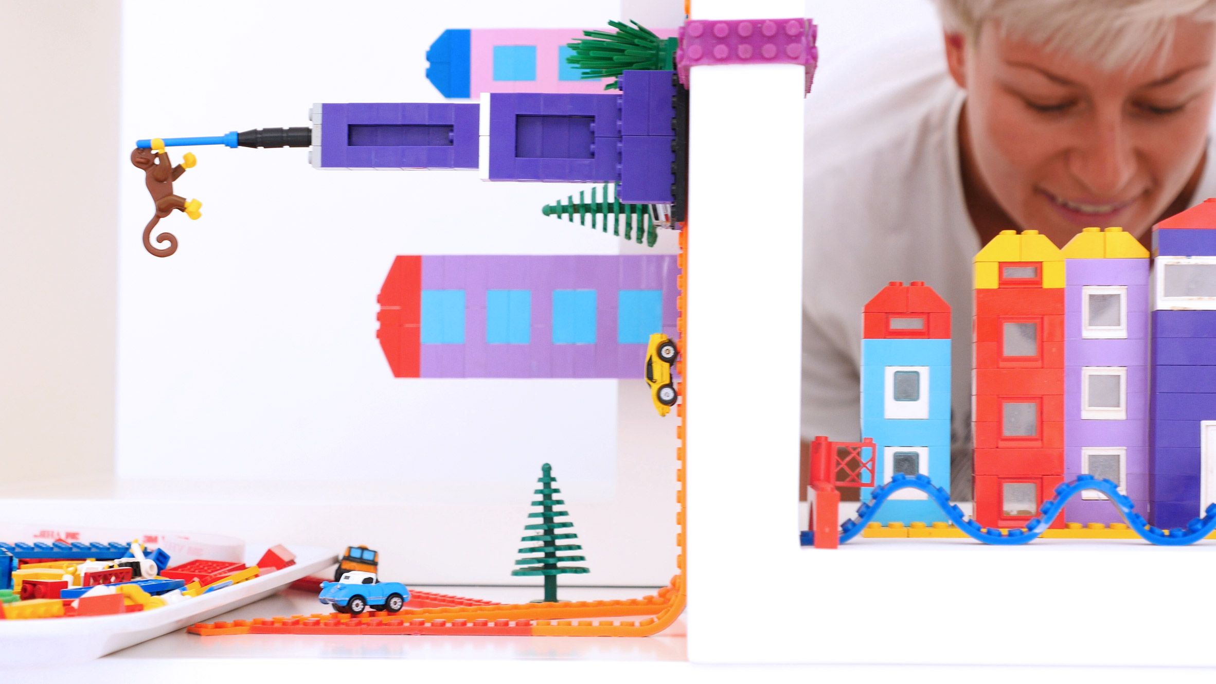 Nimuno Loops is a reusable tape that turns any surface into a base for Lego