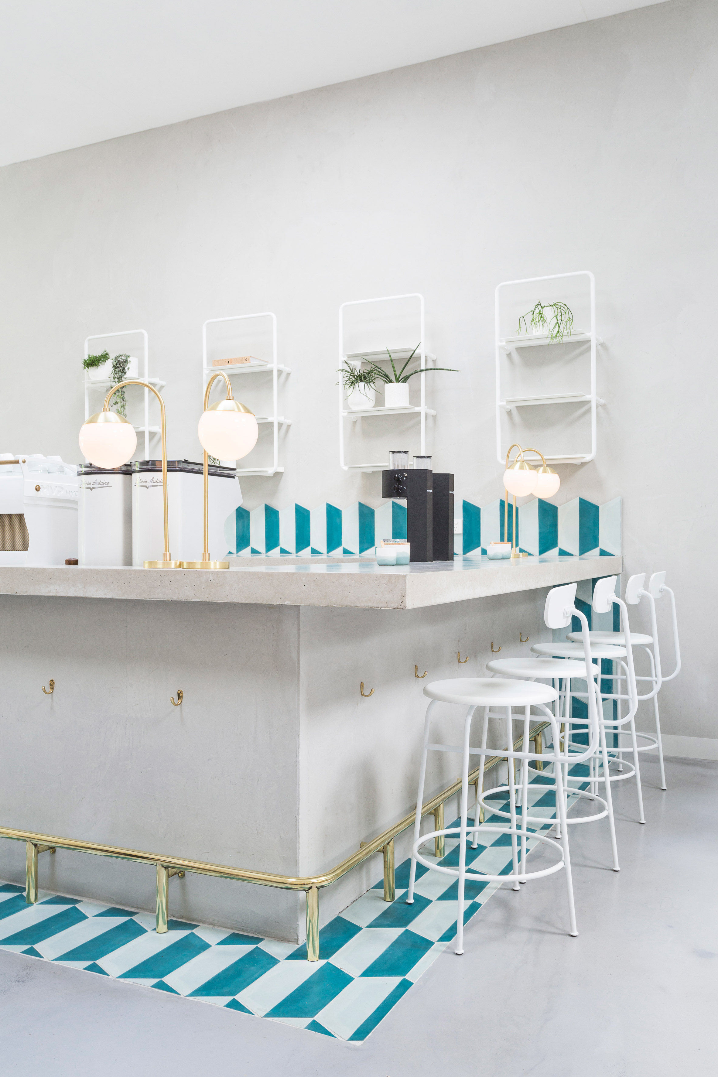 Biasol creates melbourne cafe interior based on s