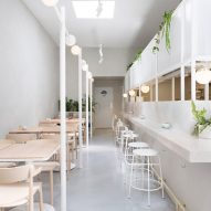 Biasol creates Melbourne cafe interior based on 1950s Greek delicatessens