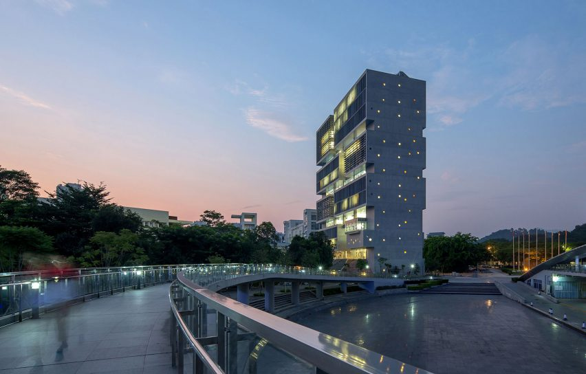 Ocean Center for Tsinghua University's Graduate School in Shenzhen