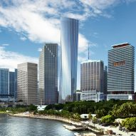 One Bayfront Plaza by KPF set to become Miami's joint-tallest building