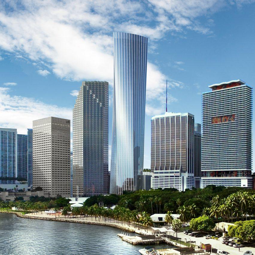 KPF's Skyscraper at One Bayfront Plaza in Miami