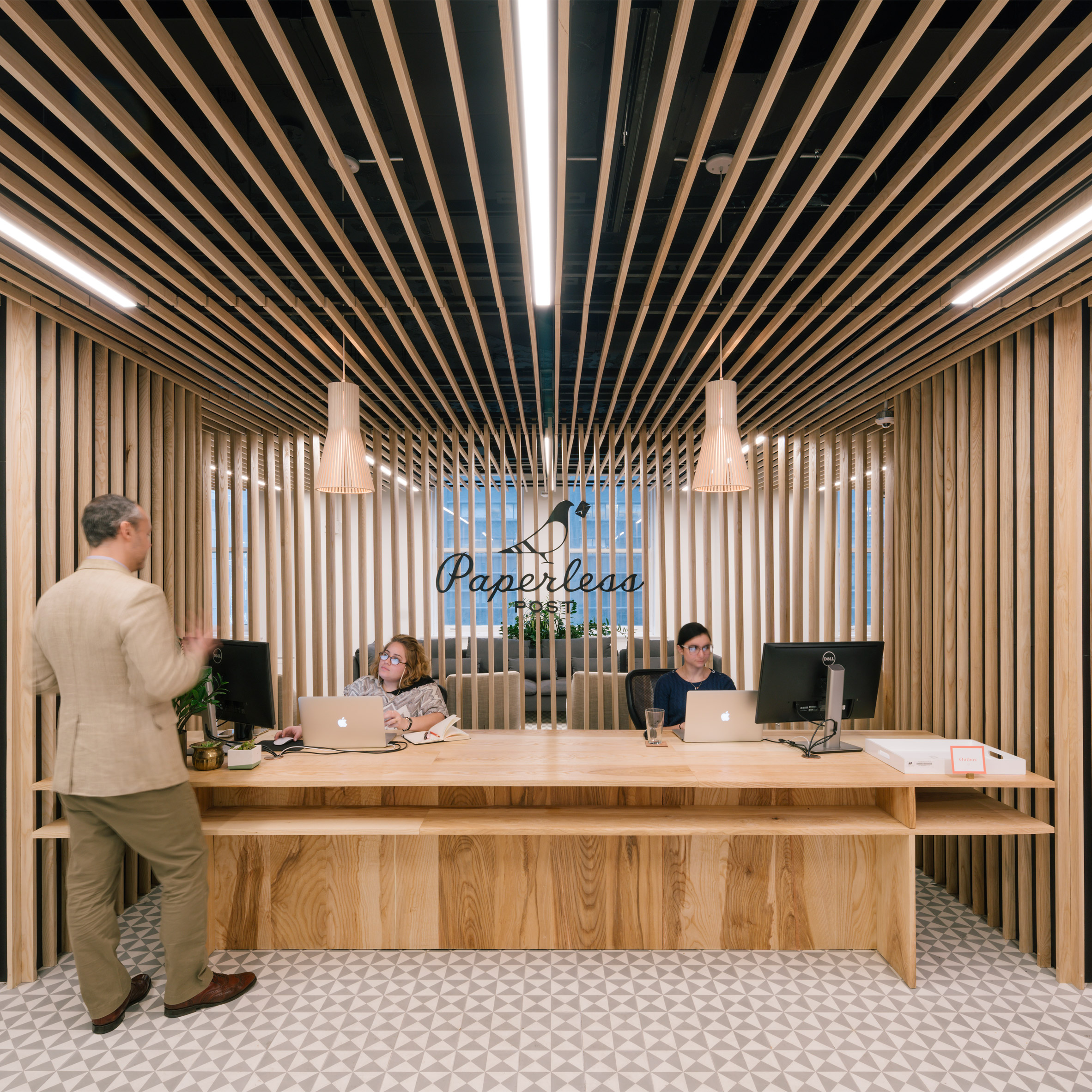 architecture design office. paperless post hq by add architecture design office t