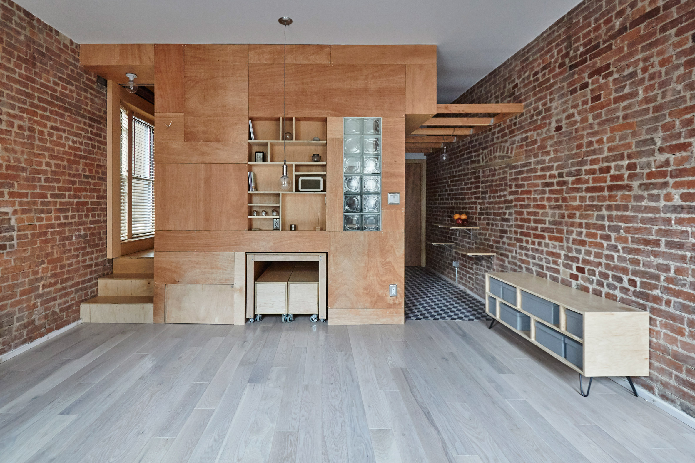Peter Kostelov creates transformable rooms for New York apartment