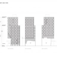 Plan of 160 East 22nd Street by S9 Architecture
