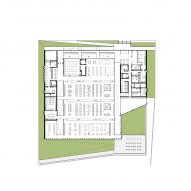 Plan of Waterdown Library and Civic Centre by RDHA