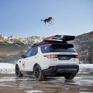 Land Rover unveils drone-equipped Discovery for search and rescue operations