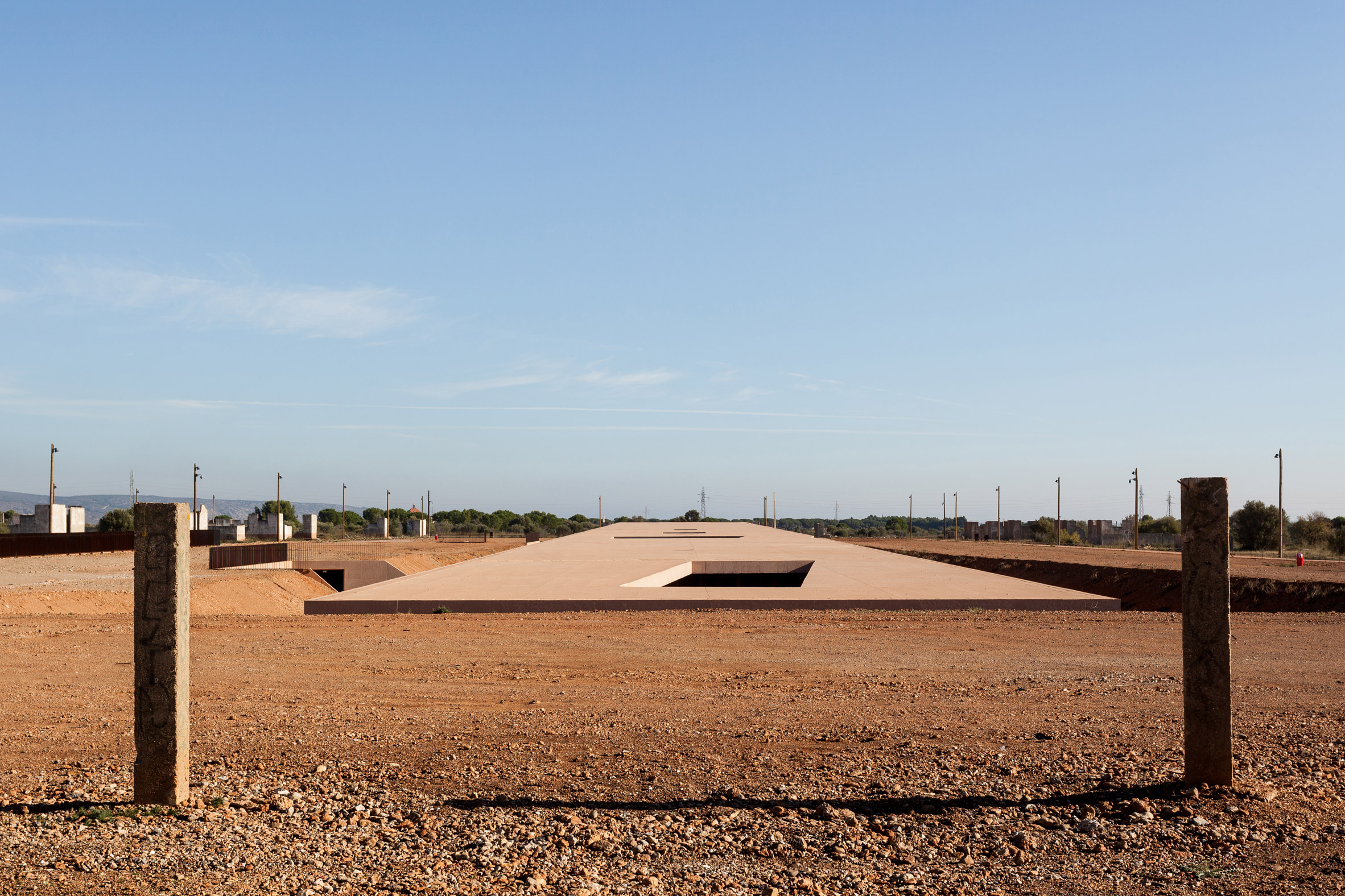 Rudy Ricciotti sinks Rivesaltes Memorial Museum in furrow at former French military camp