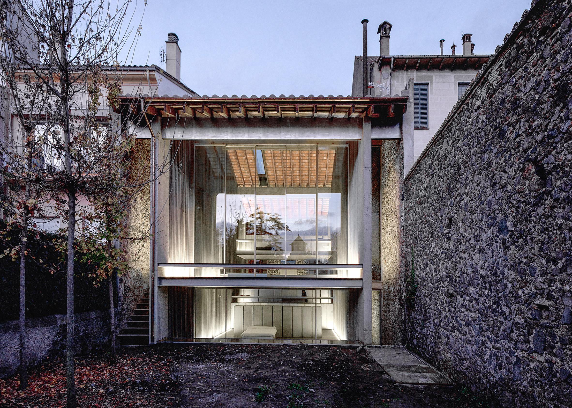 Row House, 2012, Olot, Girona, Spain
