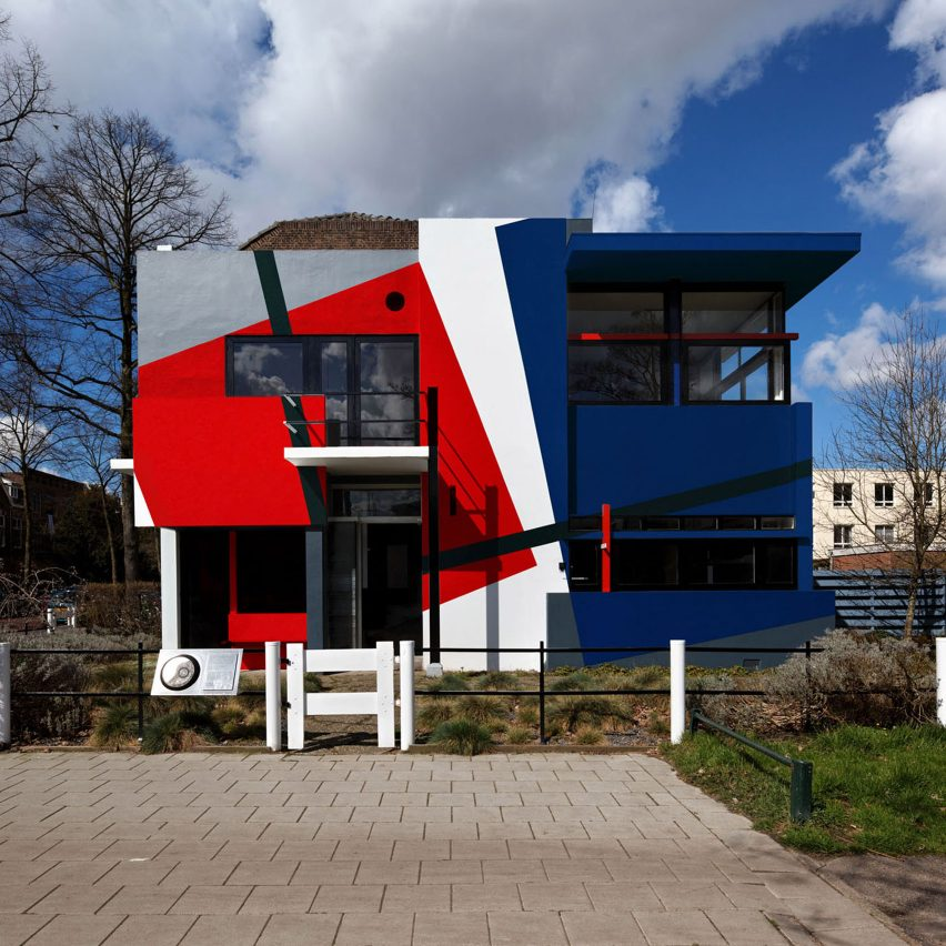 Schroder house by Rietveld Van Doesburg