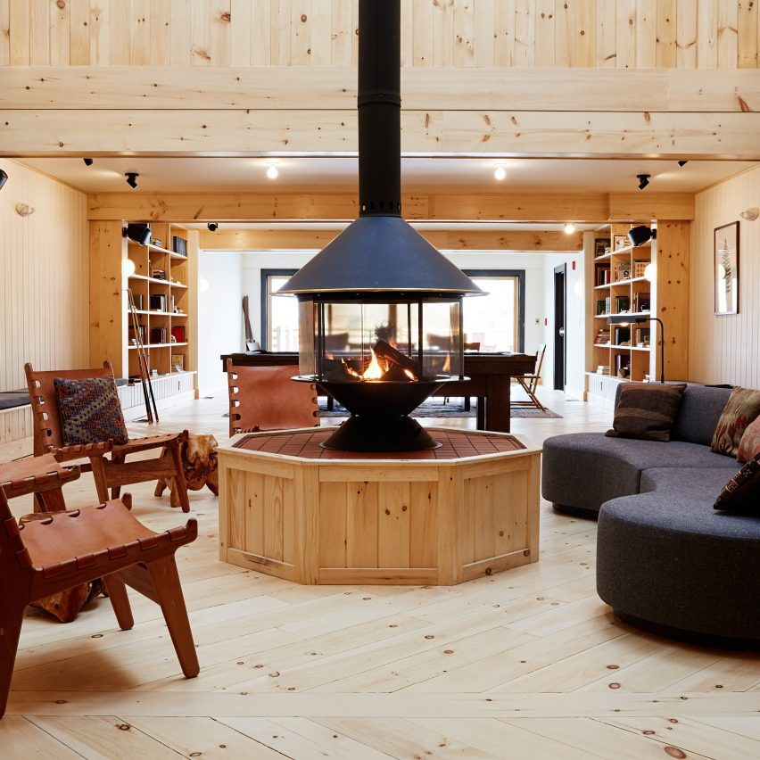 Scribner's Catskill Lodge renovated by Studio Tack