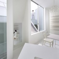 10 of the most popular all-white interiors from Dezeen's Pinterest boards