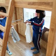 Small house for kids by Hibinosekkei