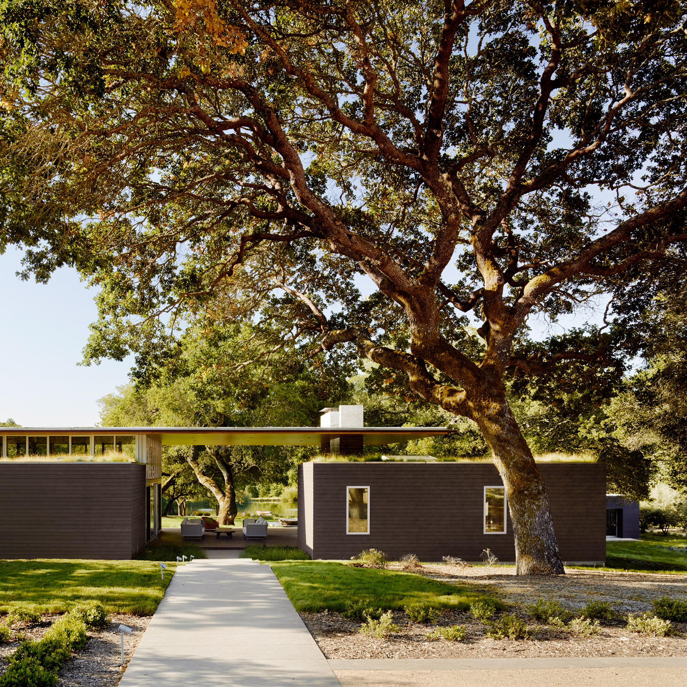 Sonoma Residence by Turnbull Griffin Haesloop Architects, photograph by Matthew Millman