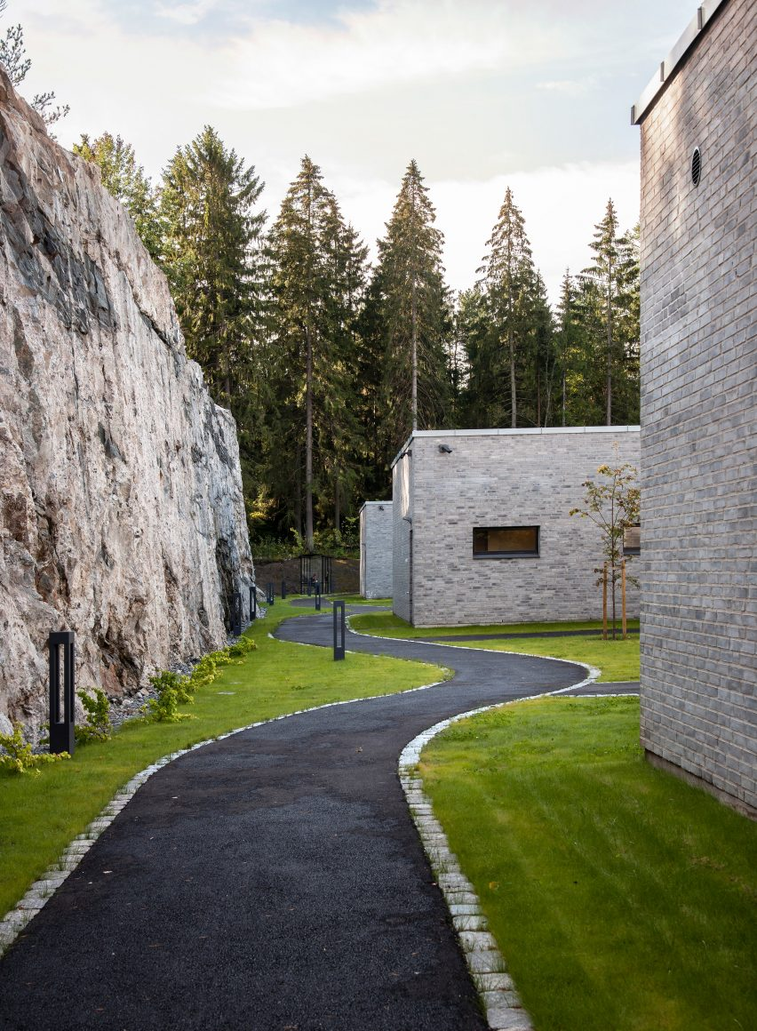 Southern Oslo psychiatric centre by Hille Melbye architects