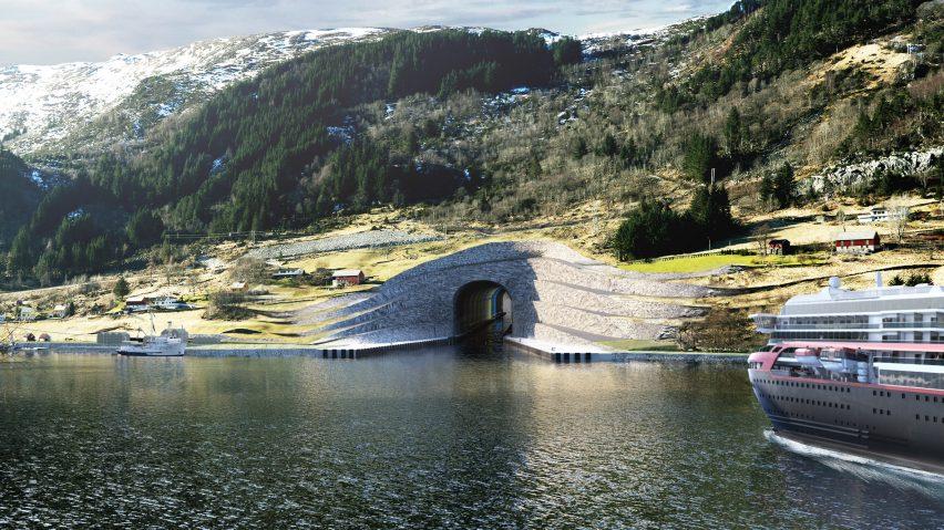 Stad Ship Tunnel by Snøhetta
