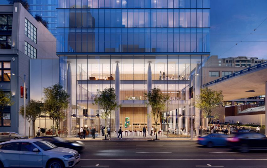 555 Howard Tower, Renderings by Steelblue, Arquitetura por Renzo Piano Building Workshop em colaboração com Mark Cavagnero Associates