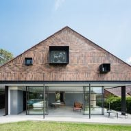"Tribe Studio builds Sydney house extension featuring ""brick sunburst"""