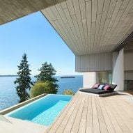 Mcleod Bovell nestles West Vancouver home into steep site overlooking the sea