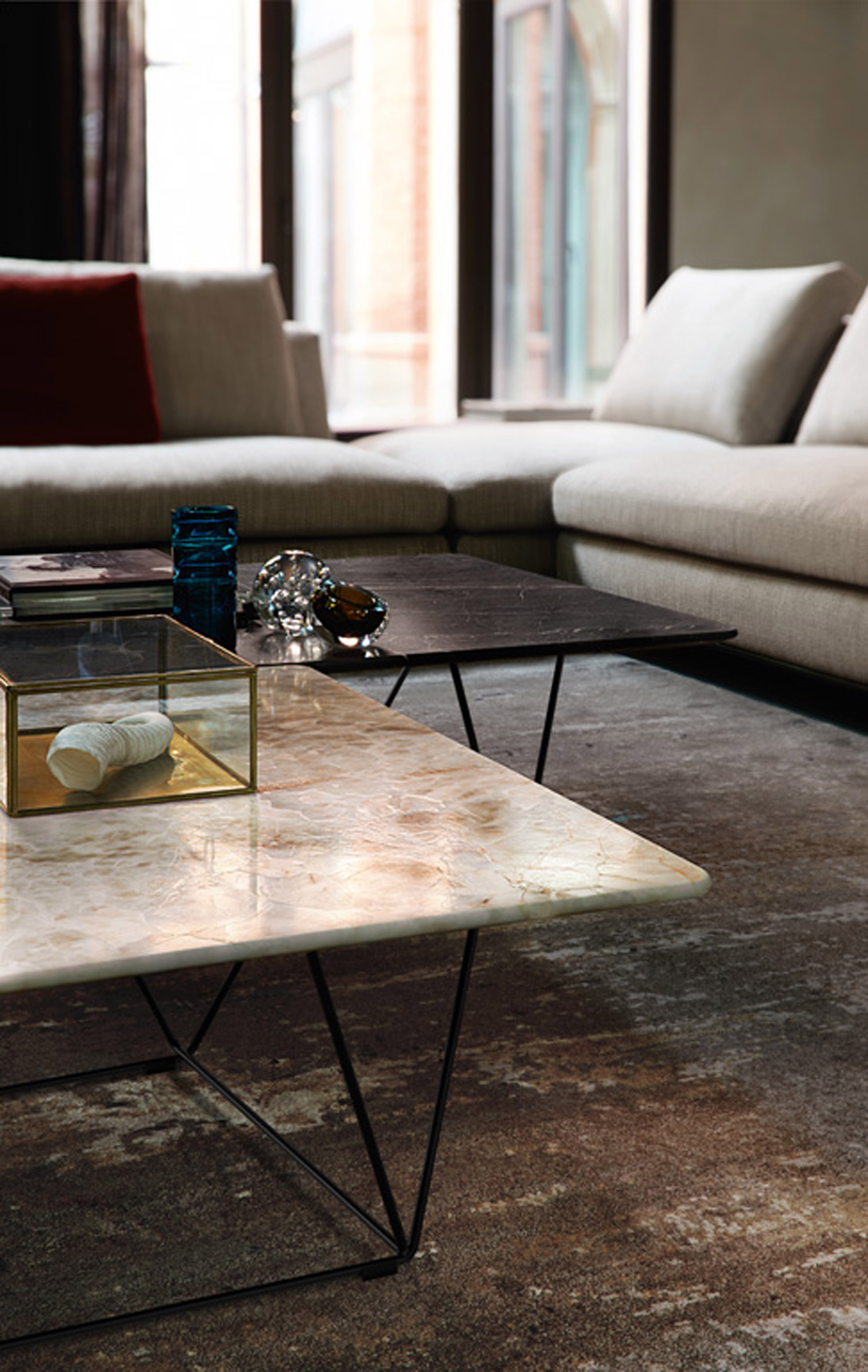 Foyer Table Singapore : Novices walter knoll to present sofa with integrated