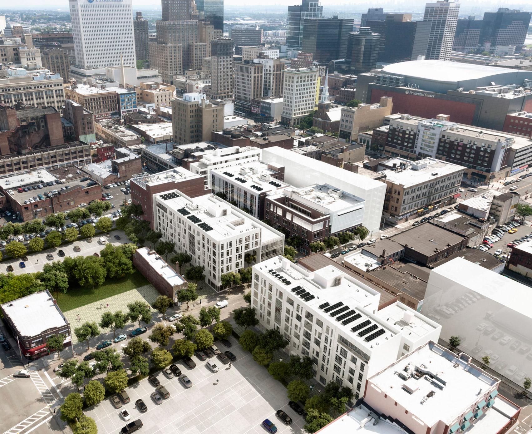 Richard Meier designs schools and teacher housing for his hometown in New Jersey