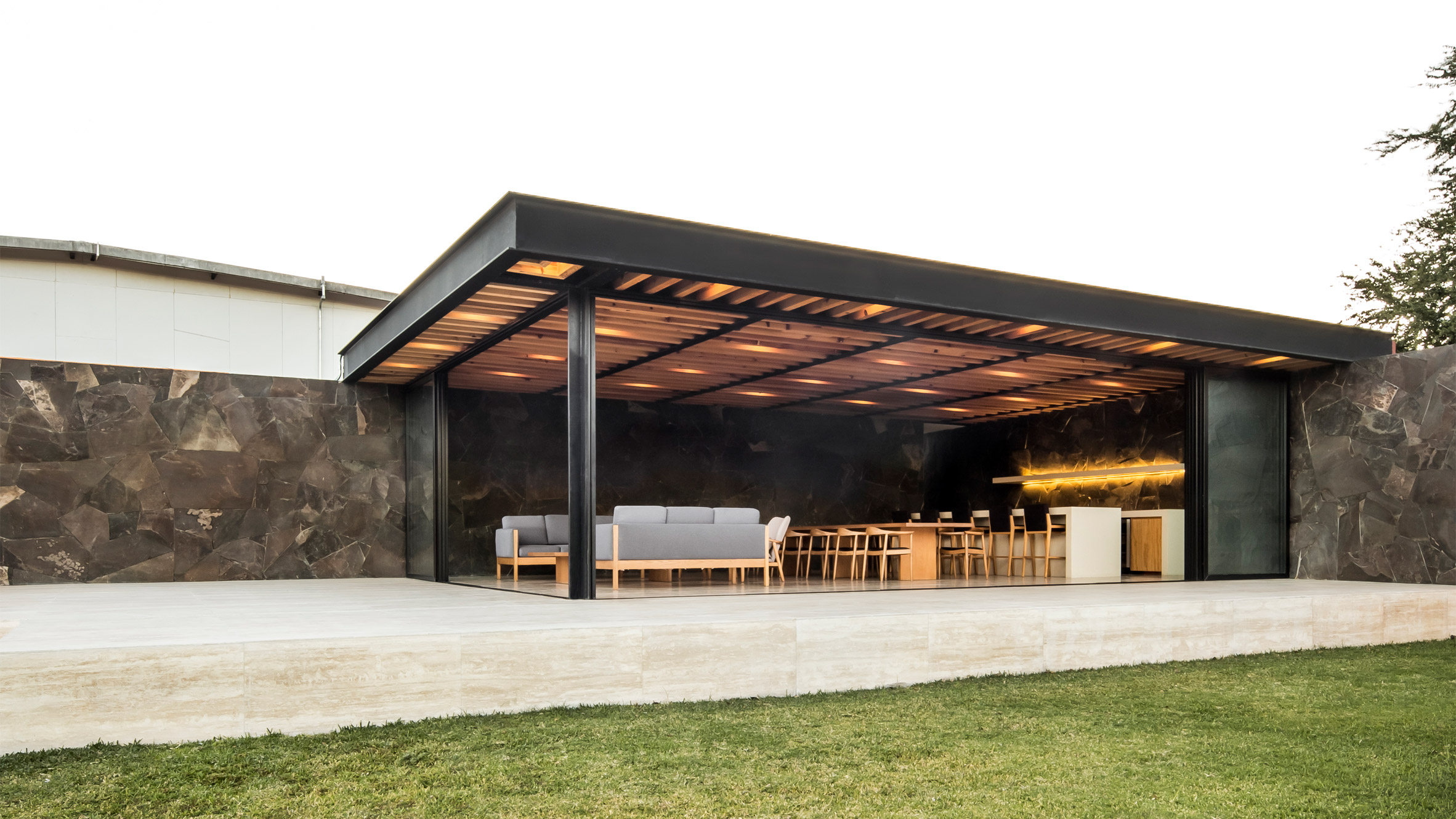 1540 Arquitectura adds cosy cellar and events terrace to tequila distillery