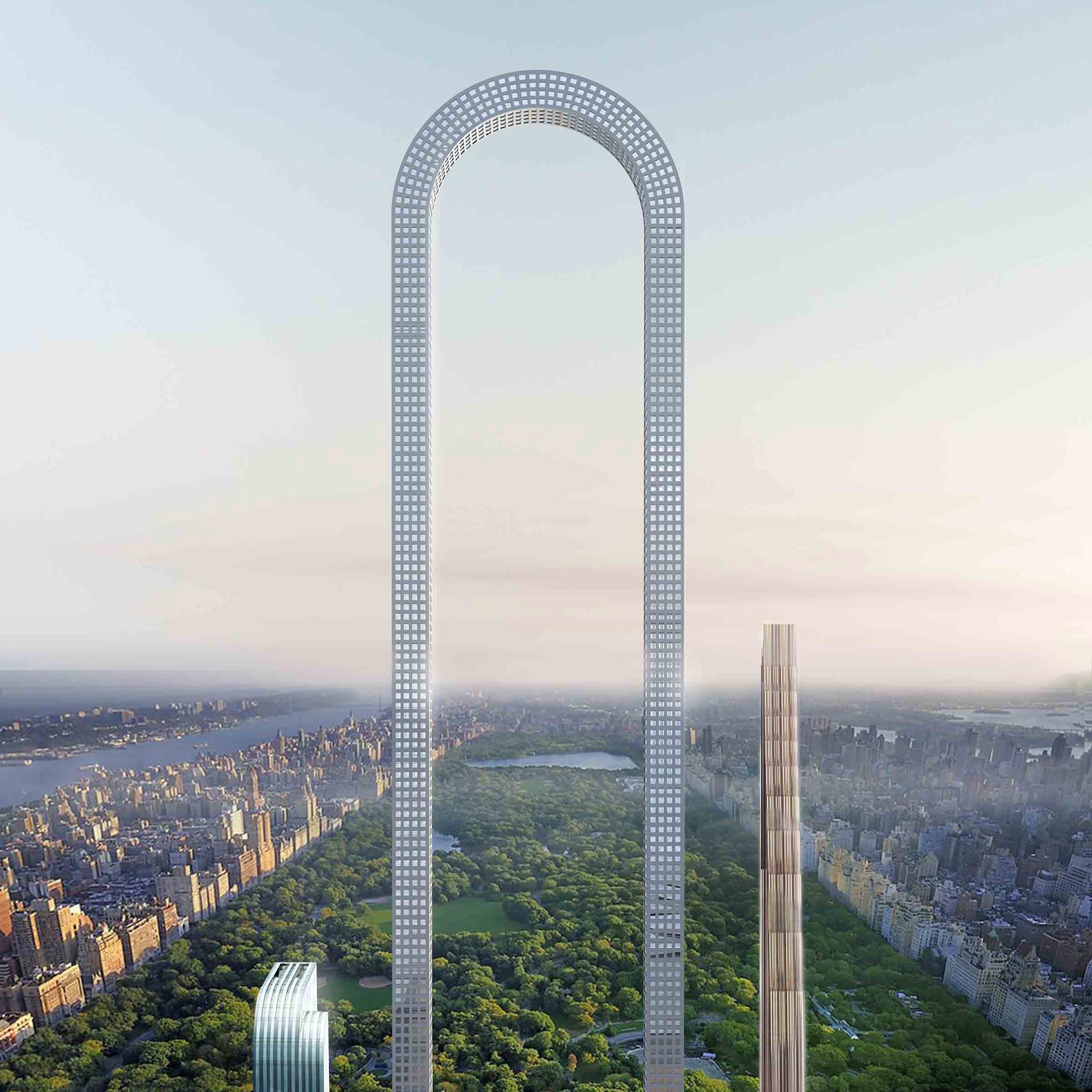 Oiio imagines the big bend skyscraper for new york as the longest oiio imagines the big bend skyscraper for new york as the longest building in the world malvernweather Images