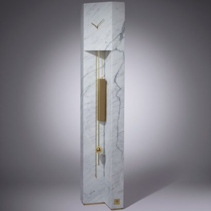 Milan: Time Machine grandfather clock by Lee Broom