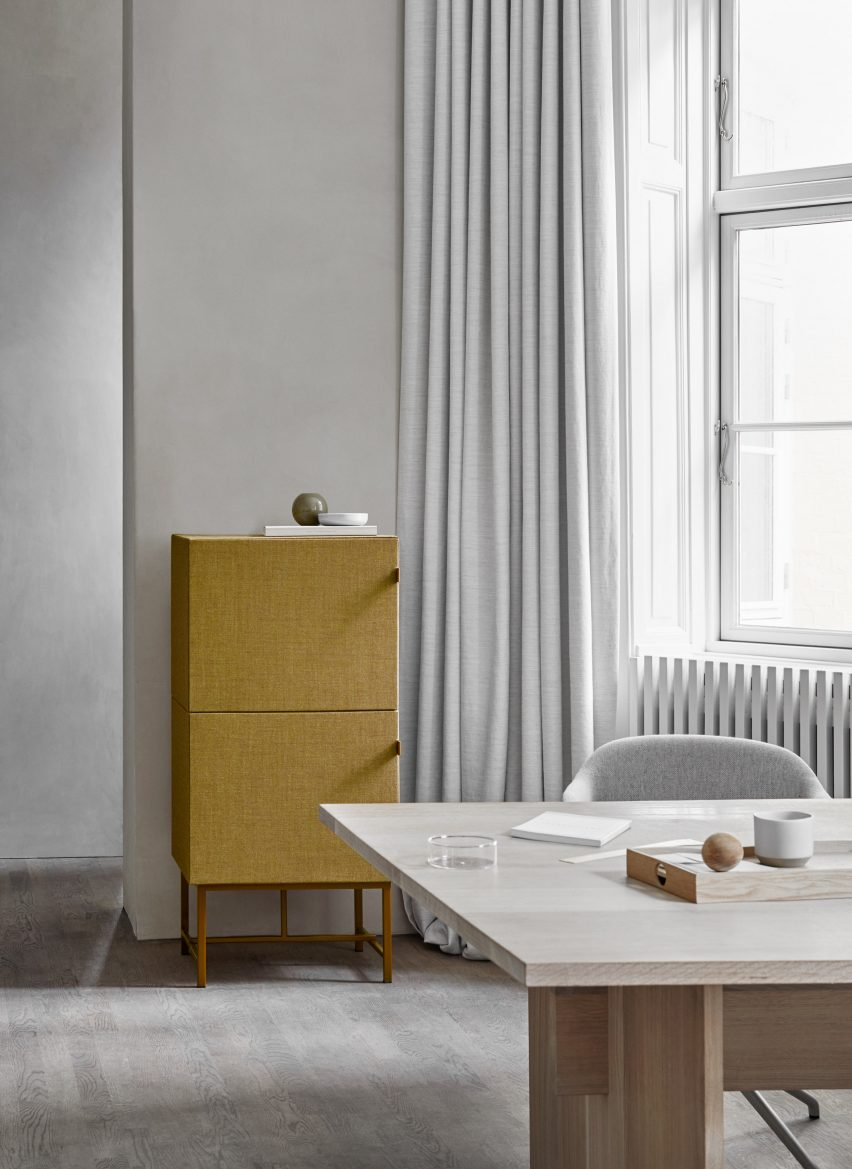 Tone cabinets by Norm Architects for Zilenzio