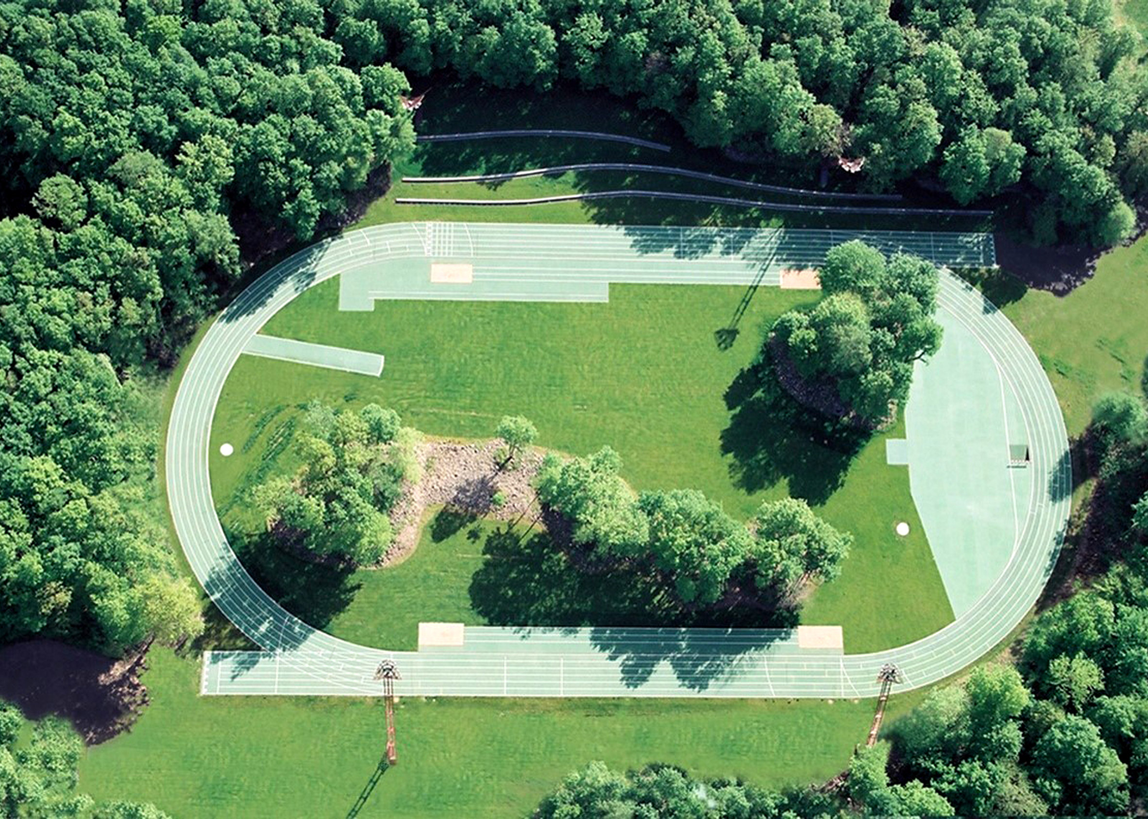 Tossols-Basil Athletics Track, 2000, Olot, Girona, Spain