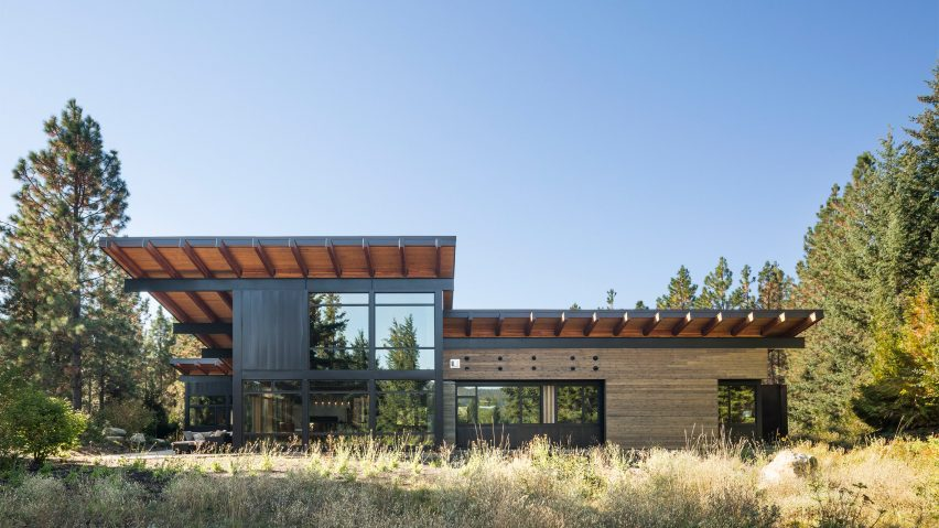 Roof overhangs select the roof overhangs and select for Architect washington state