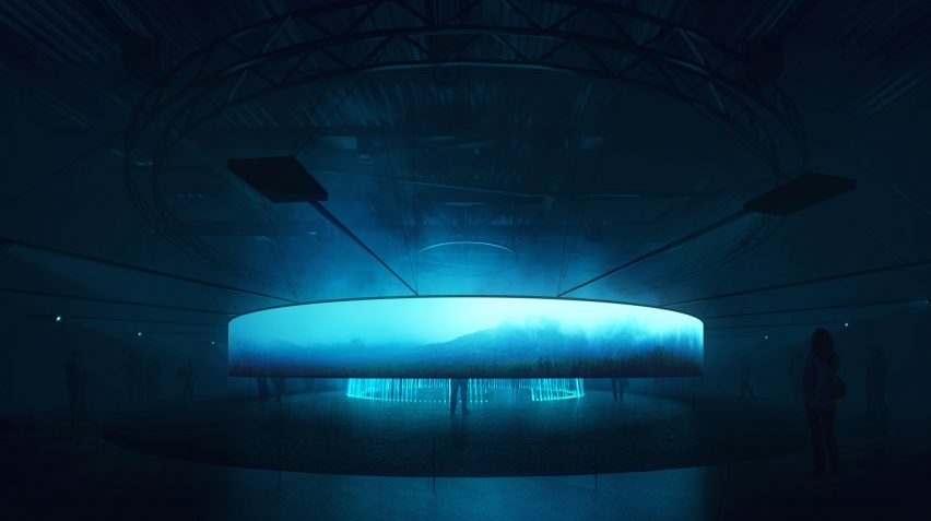 UK Pavilion for Astana Expo by Asif Khan/Brian Eno