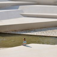 ENOTA sculpts pedestrian area for Slovenian garden city