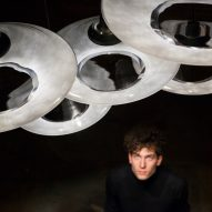 Haberdashery's Canopy pendant light recreates the effect of dappled sunlight
