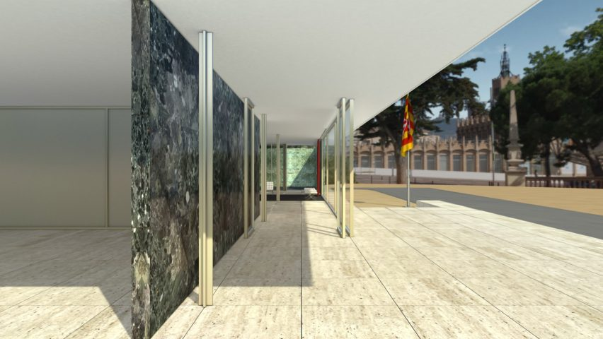 Cl3ver launches virtual reality tour of mies van der rohe 39 s barcelona pav - Fondation mies van der rohe ...