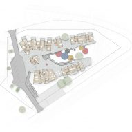 Plan for Walumba Aged Care Center by Iredale Pedersen Hook Architects