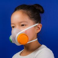 Woobi Play air-pollution mask is designed to appeal to children