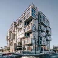 "ODA completes ""pixelated"" luxury condo building in Queens"