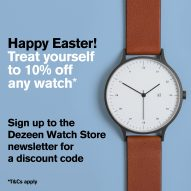 Dezeen Watch Store announces Easter discount for all watches