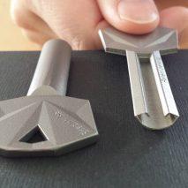 3D-printed key