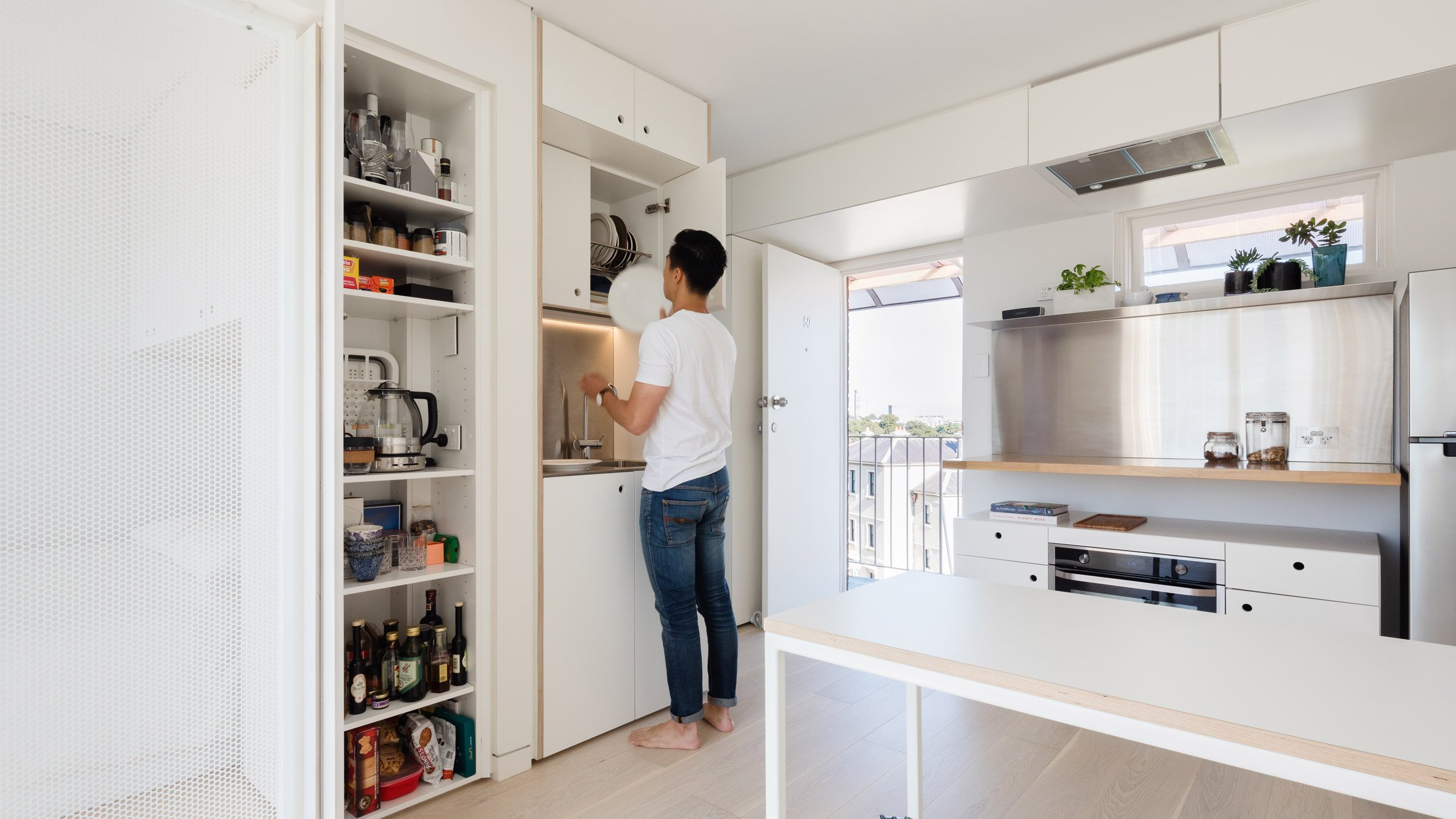Japanese Organisational Technique Informs Layout Of Sydney Micro Apartment Australian