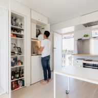 Japanese organisational technique informs layout of Sydney micro apartment