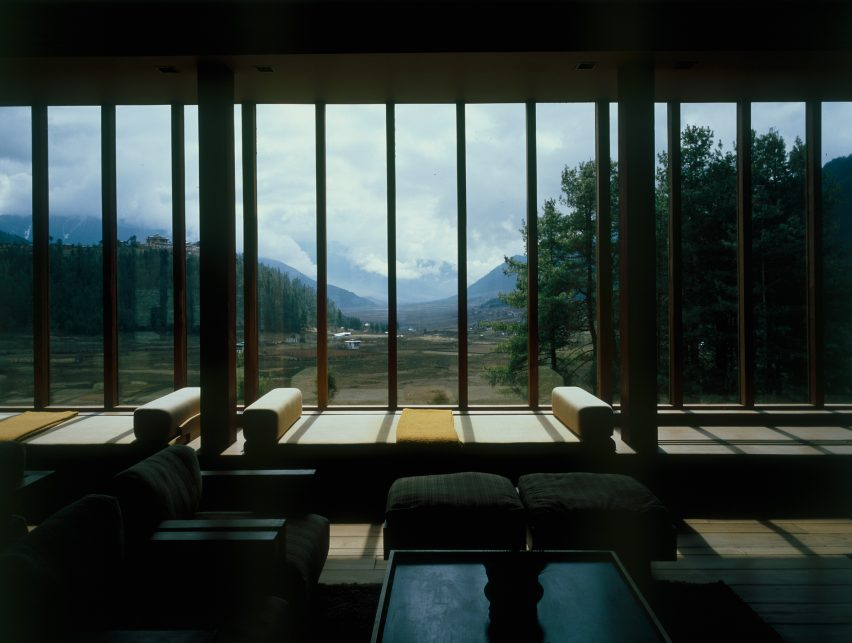 Amankora resort in Gangtey, Bhutan, by Kerry Hill Architects