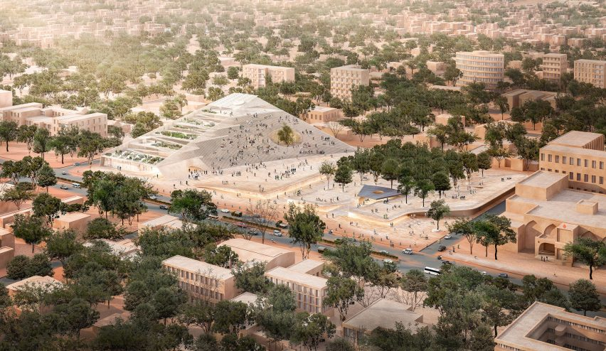 Burkino Faso National Assembly by Kéré Architecture