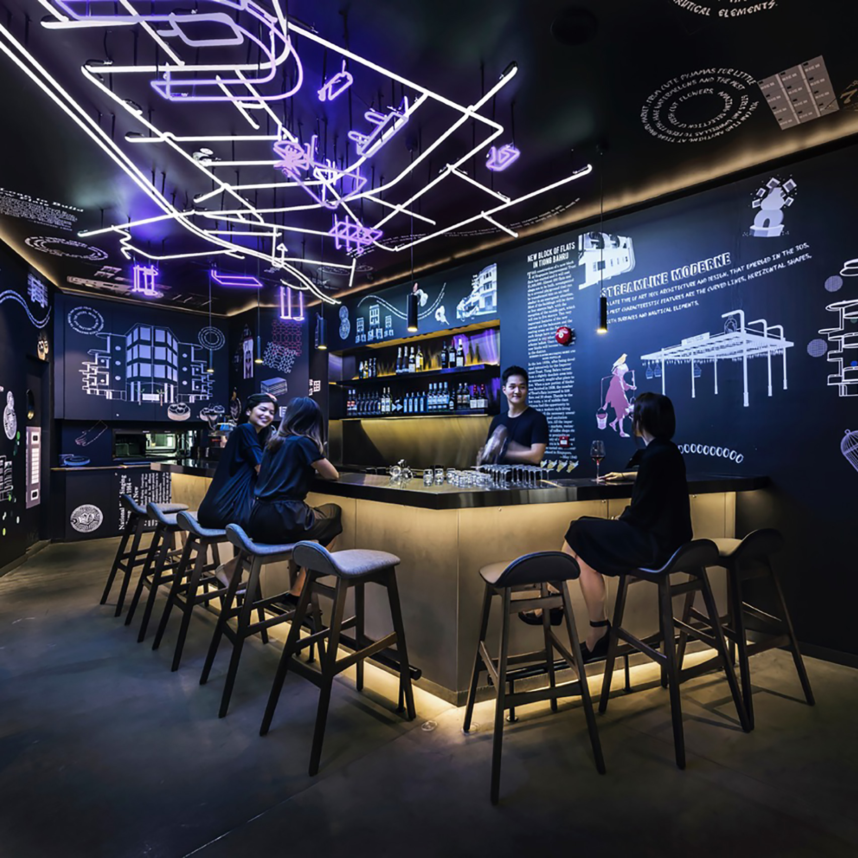 Bars architecture and interior design | Dezeen