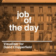 Job of the day: visualiser for David Chipperfield