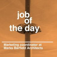 Job of the day: marketing coordinator at Marks Barfield Architects