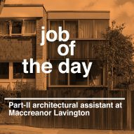 Job of the day: Part-II architectural assistant at Maccreanor Lavington