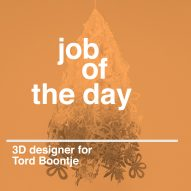 Job of the day: 3D designer for Tord Boontje