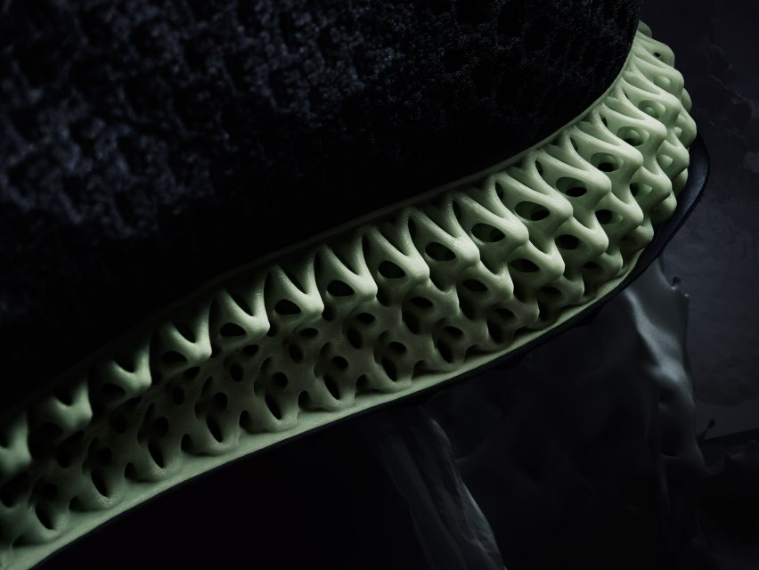 76b5eb679fb Adidas shapes Futurecraft 4D shoe soles using light and heat